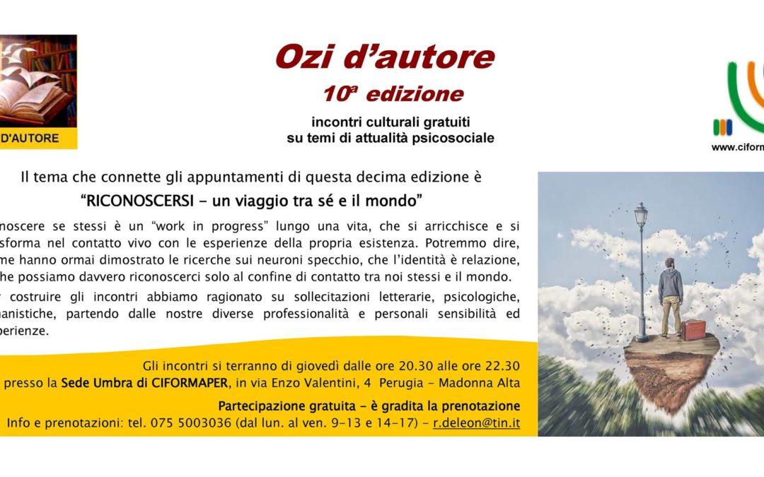 Ozi d'autore a Perugia