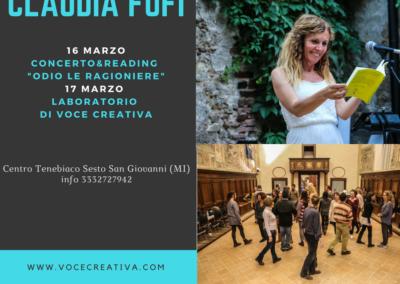 Claudia Fofila Odio le ragioniere tour